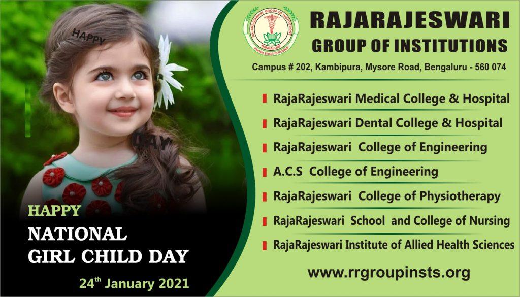 24th jan National Girl Child day RRGI
