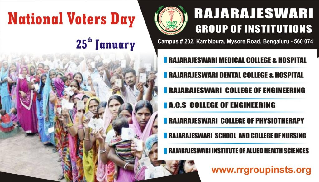 25th National Voters Day