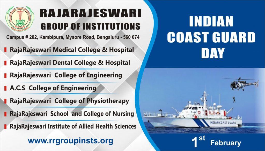 Indian Coast Guard Day RRGI
