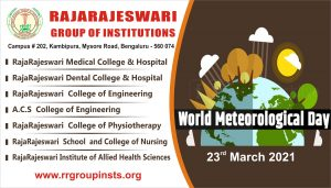 23rd march World Meteorological Day RRGI