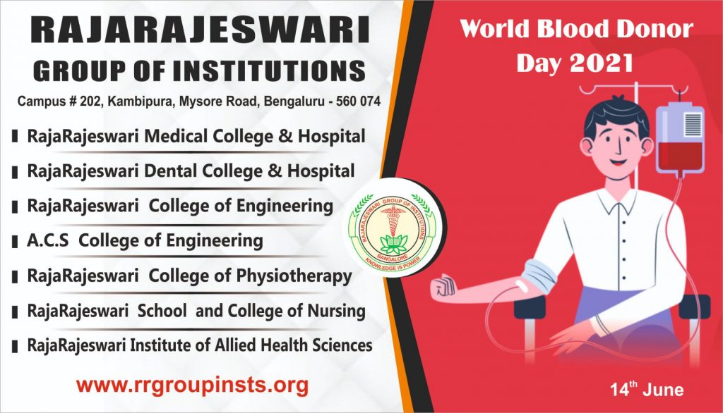 Worldblood Donor Day RRGI