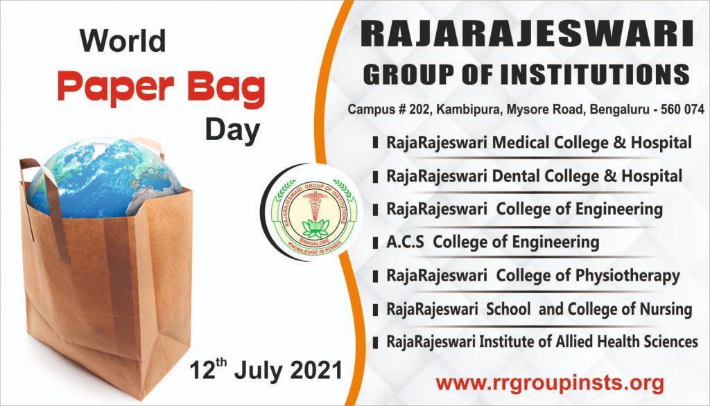 world paper bag day RRGI